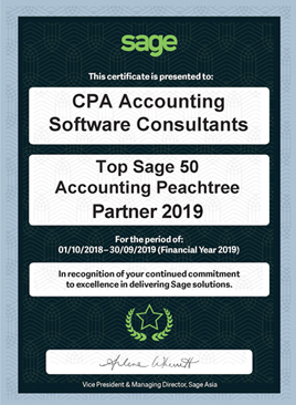 Sage50 Peachtree Master Certified Consultant